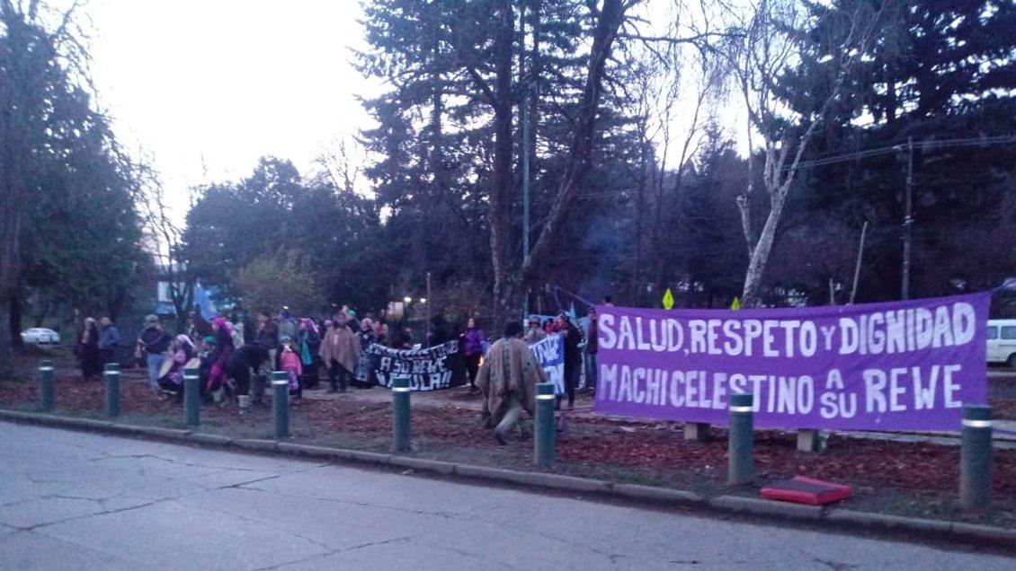 Familiares de Celestino Córdova y organizaciones mapuche denuncian brutal desalojo a ceremonia de We Tripantu en la cárcel de Temuco