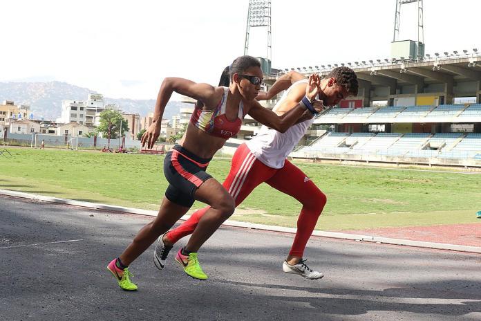 Chequeo Nacional de Atletismo paralímpicos