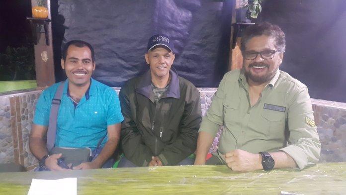Dirigentes de la FARC