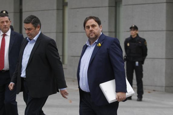 Fiscalía pedirá para Junqueras y miembros del exGovern en prisión las penas más altas por el 1-O