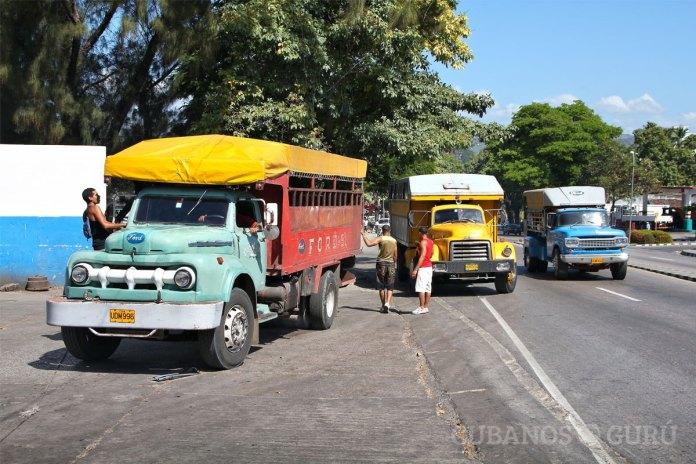 sector transporte en cuba