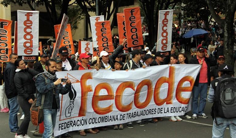 fedecode anuncia nuevo paro en Colombia