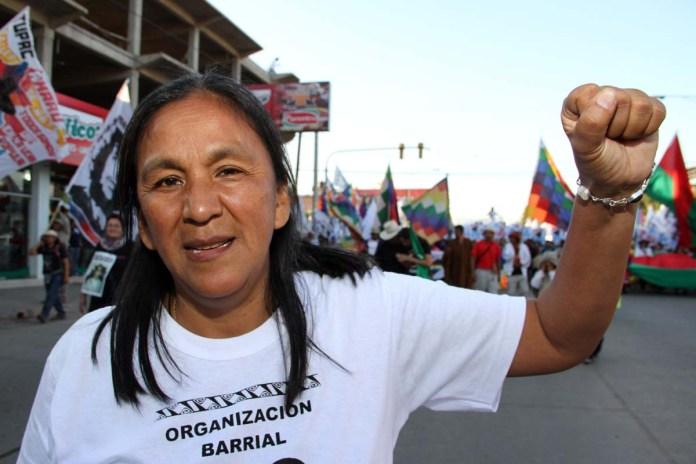 Líder social en argentina será enjuiciada