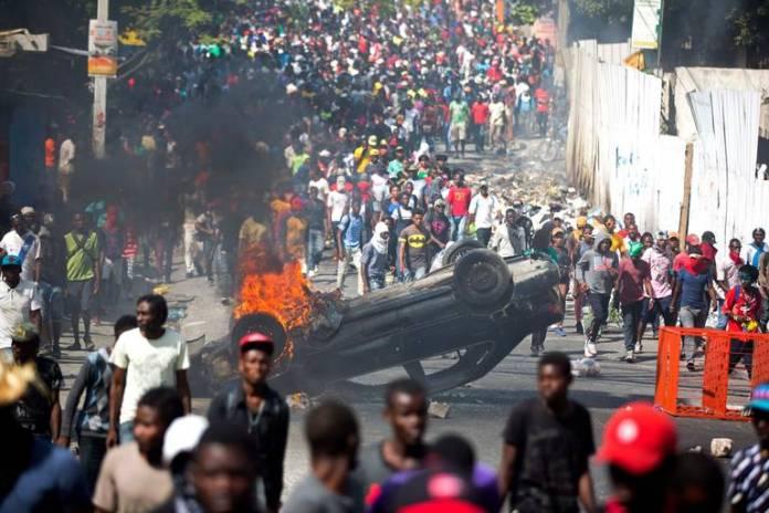 Haití implosión y crisis humanitaria