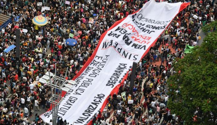 protestas Brasil