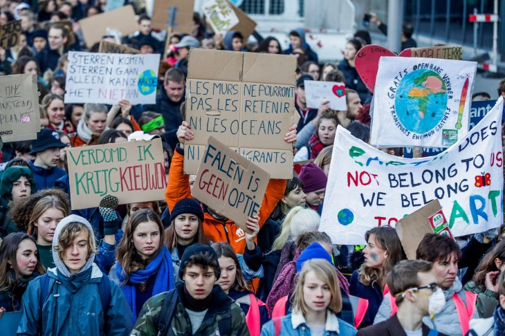 Universitarios del mundo declararon emergencia climática
