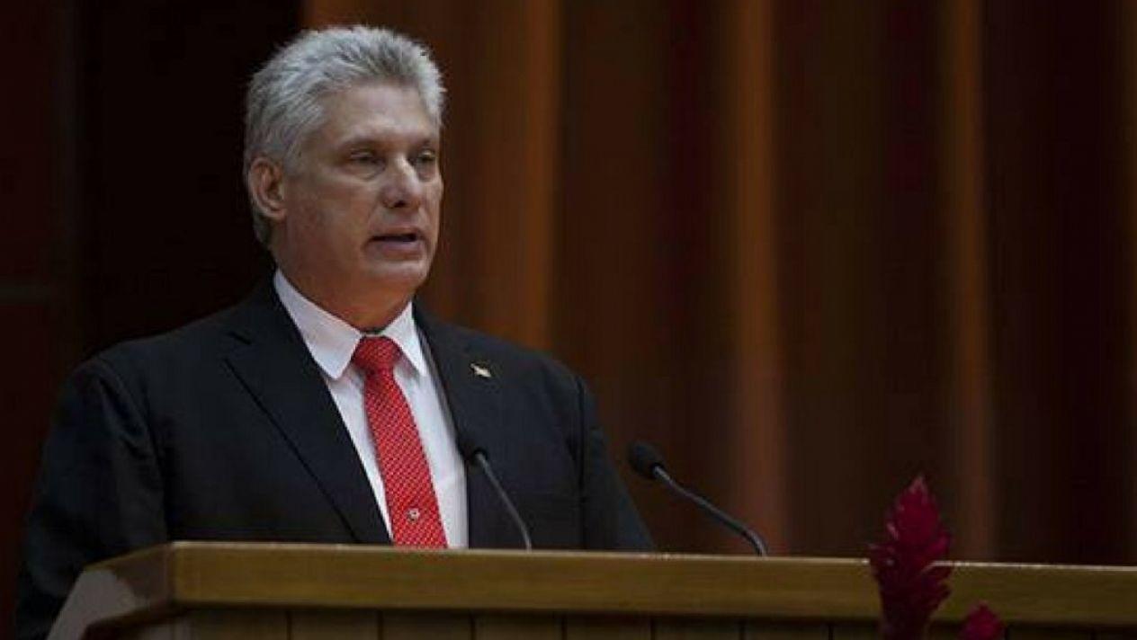 Parlamento reelige a Miguel Díaz-Canel como presidente de Cuba