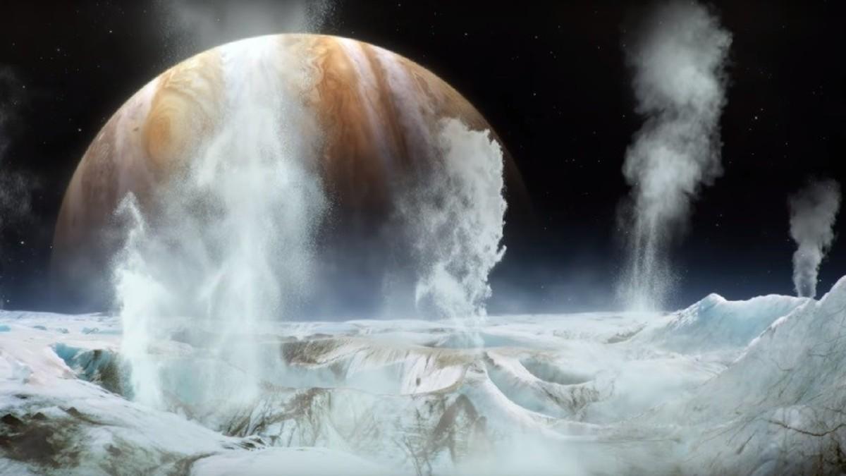¡Inédito! NASA descubre vapor de agua en satélite de Júpiter