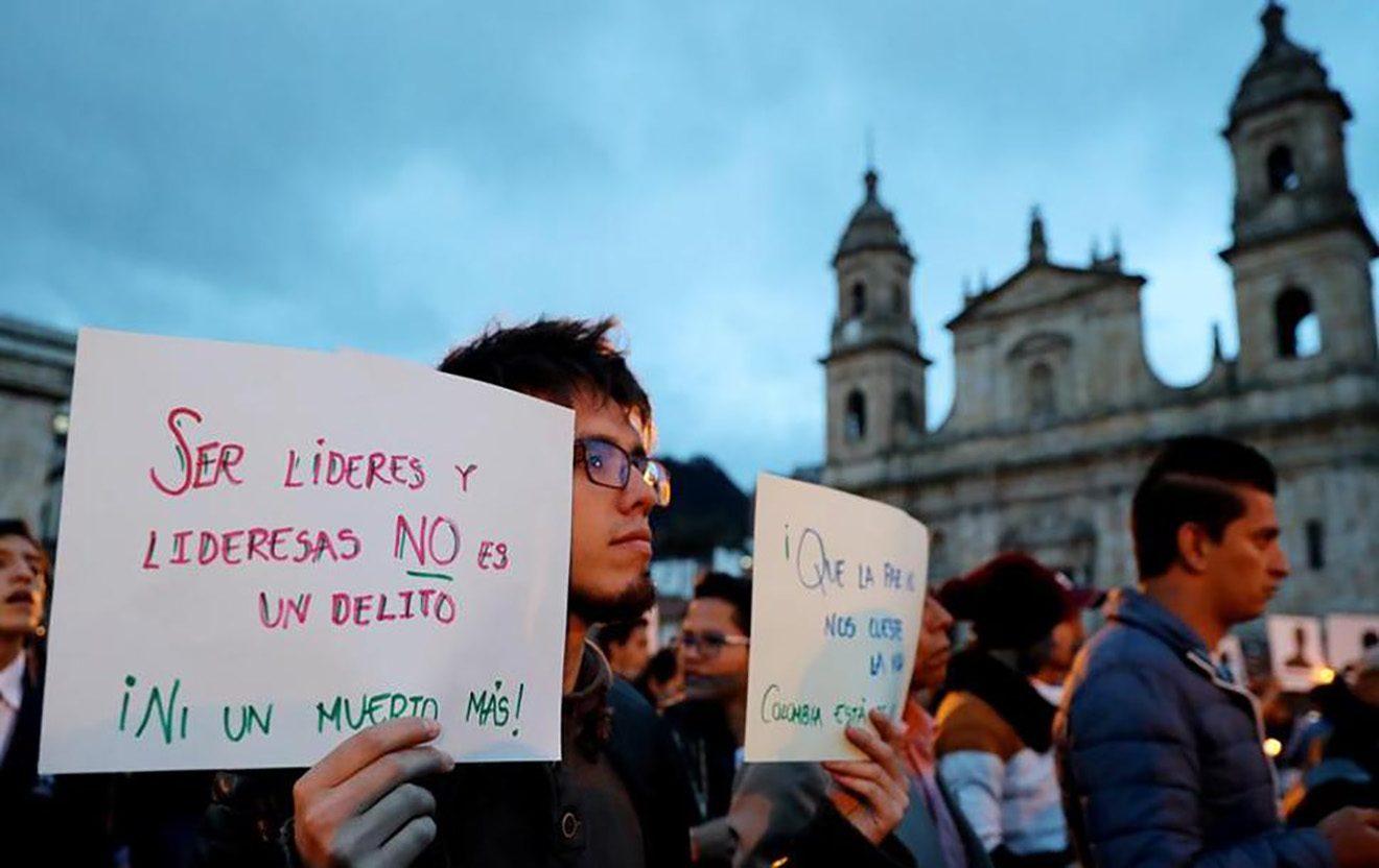 Enero de luto en Colombia: Tres líderes sociales asesinados en un día
