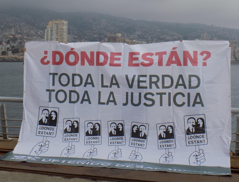 Los detenidos y detenidas desaparecidas siguen clamando por justicia y denunciando la impunidad