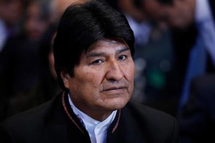 Evo Morales elecciones Bolivia