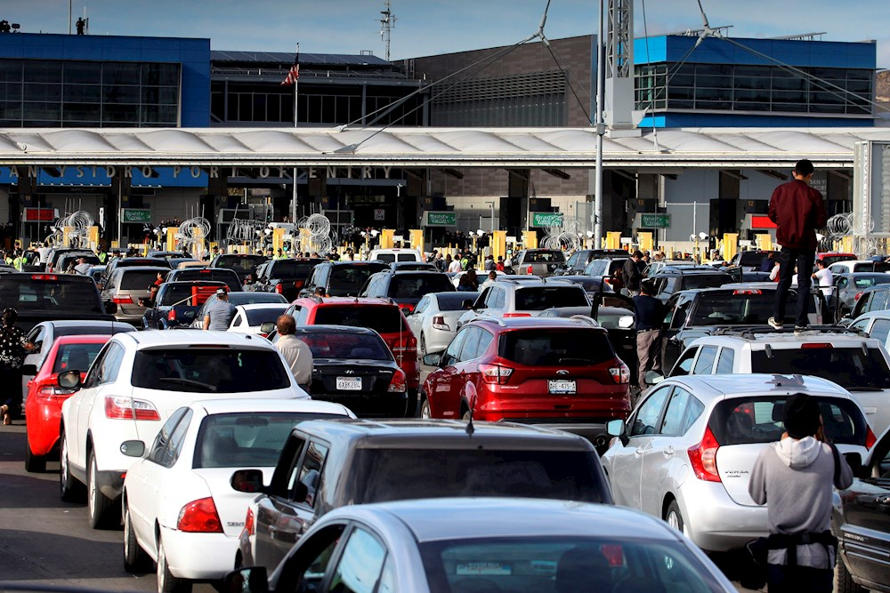 méxico restricciones tránsito frontera