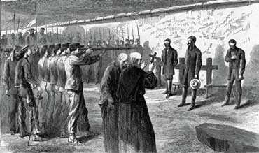 Execution of Maximilian