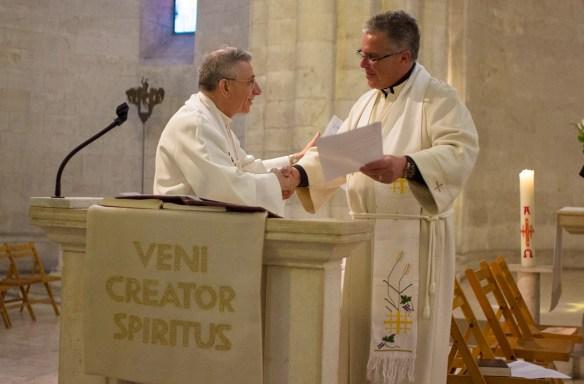 Bishop Younan and Bishop Pryse Sign Mutual Partnership Agreement