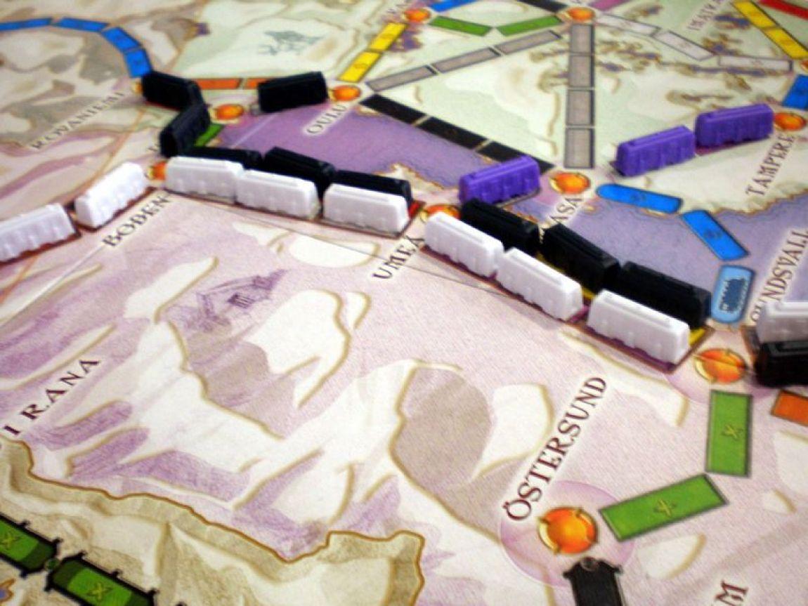 aventureros al tren juego de mesa