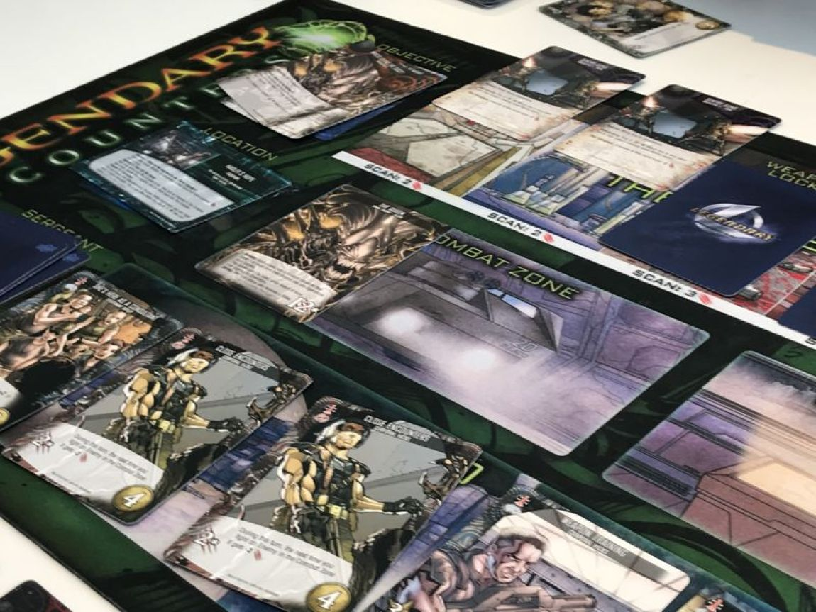 Legendary Alien juego de mesa