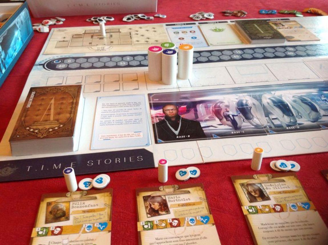 TIME Stories juego de mesa