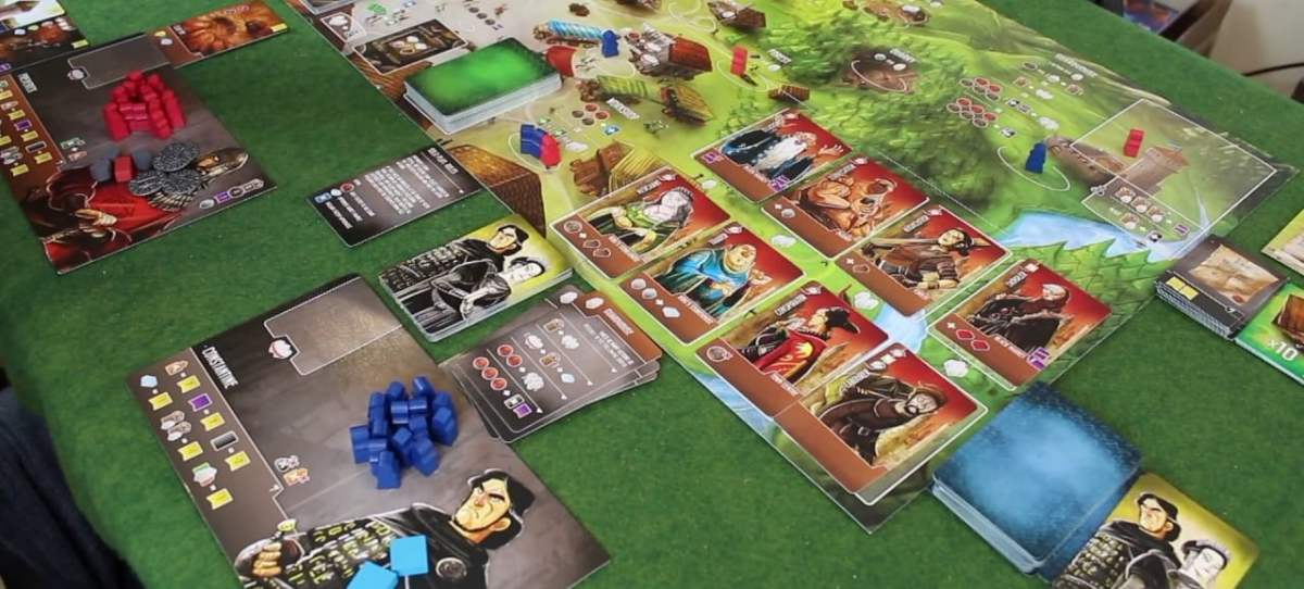 Architects of the West Kingdom juego de mesa