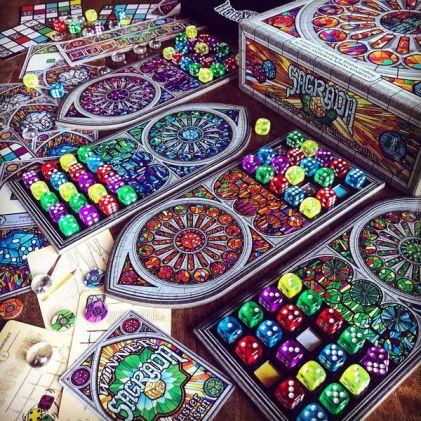 sagrada juego de mesa