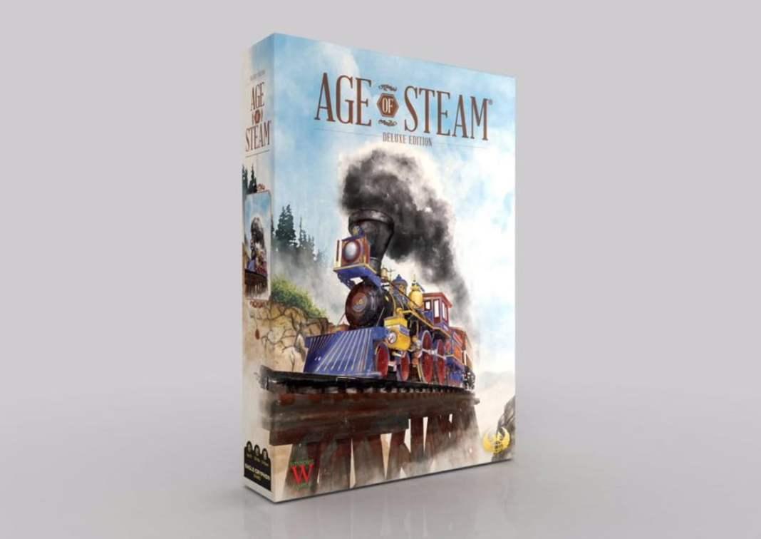 age of steam juego de mesa