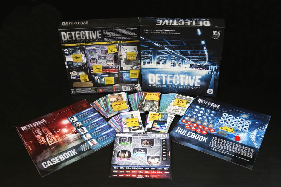 detective juego de mesa