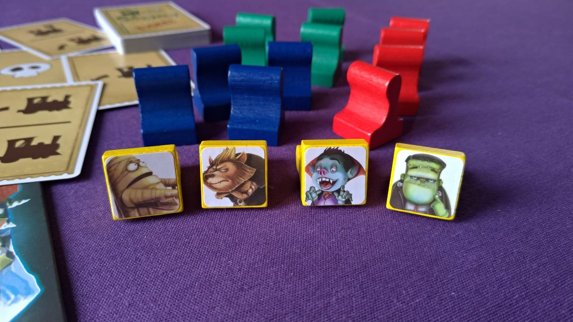 Trainsilvania juego de mesa