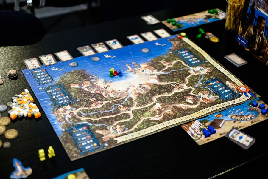 Valparaiso y Manitoba juego de mesa