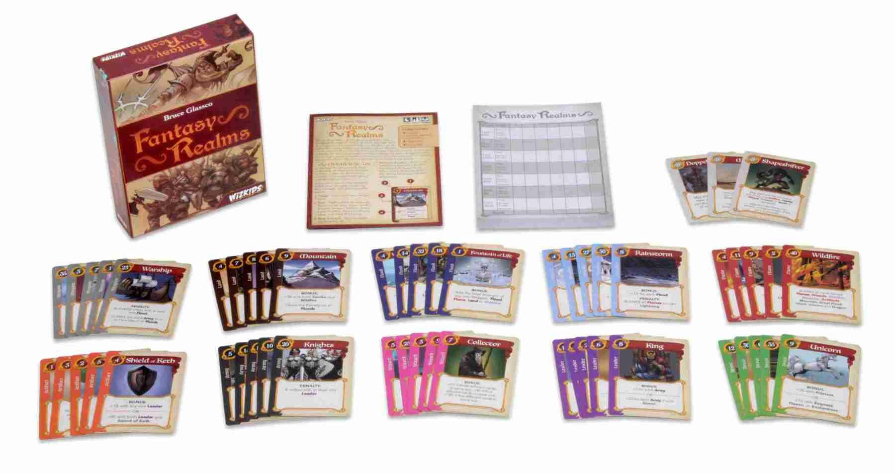 Fantasy Realms juego de mesa
