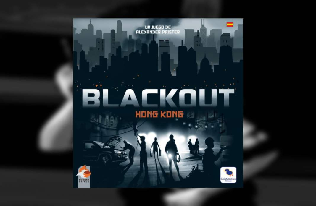 Blackout Hong kong juego de mesa