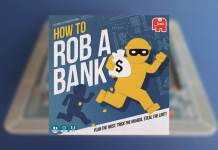 how to rob a bank juego de mesa