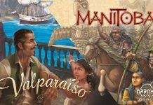Valparaiso y Manitoba juegos de mesa