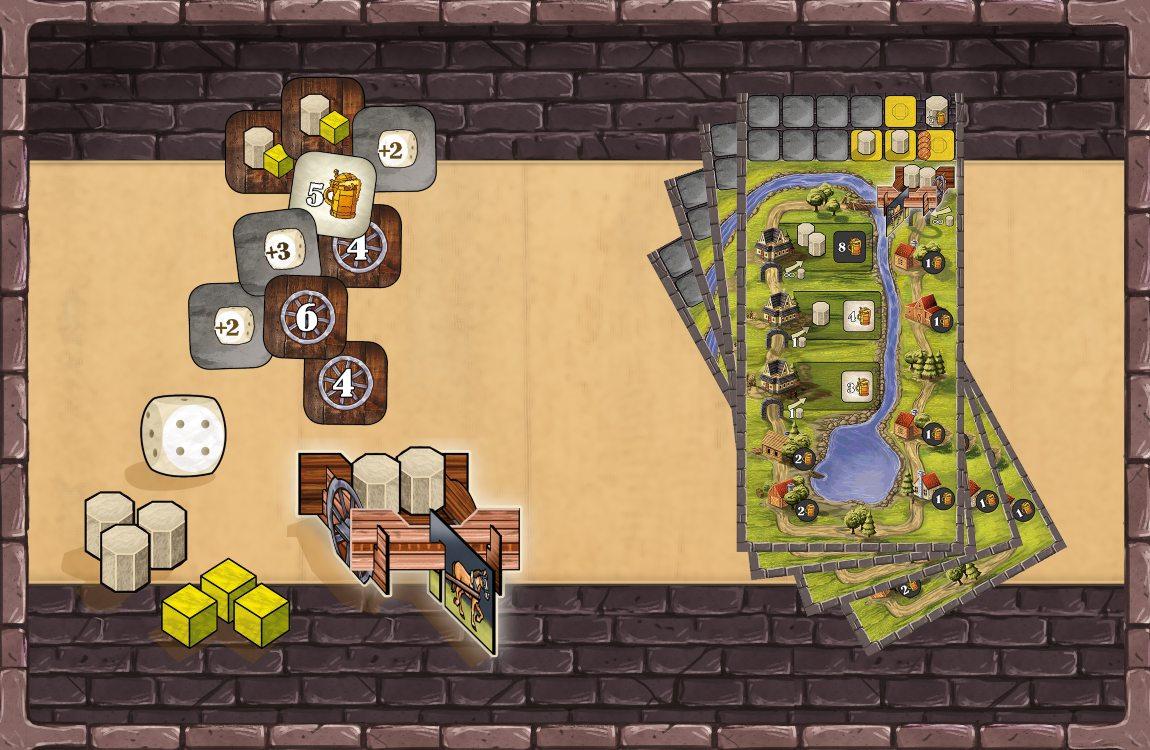 barricas y carretas juegos de mesa