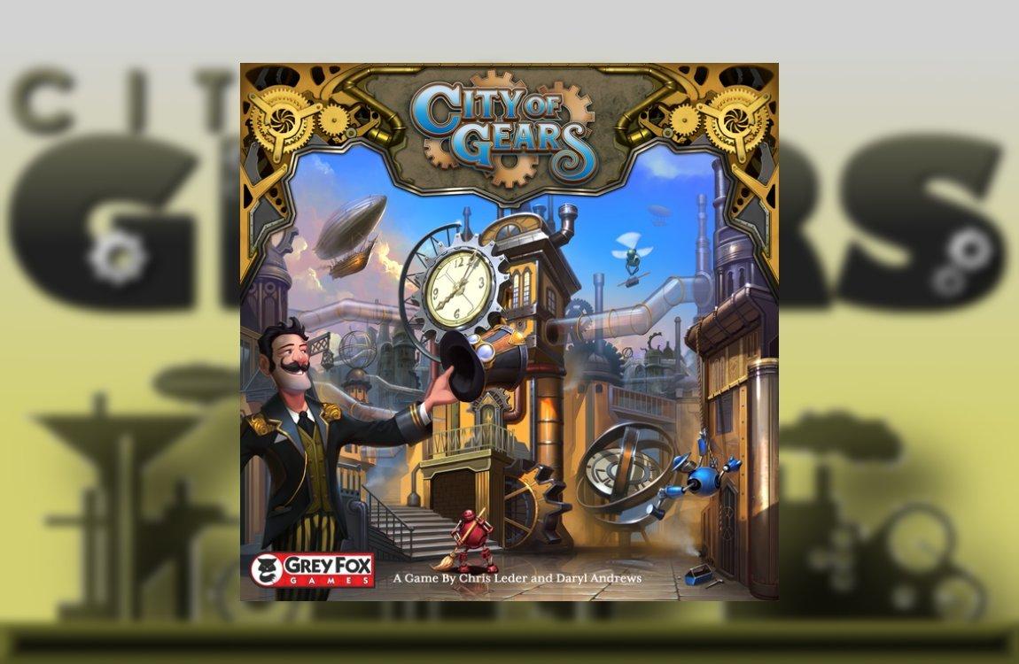CIty of Gears juego de mesa