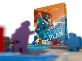 Escape plan juego de mesa