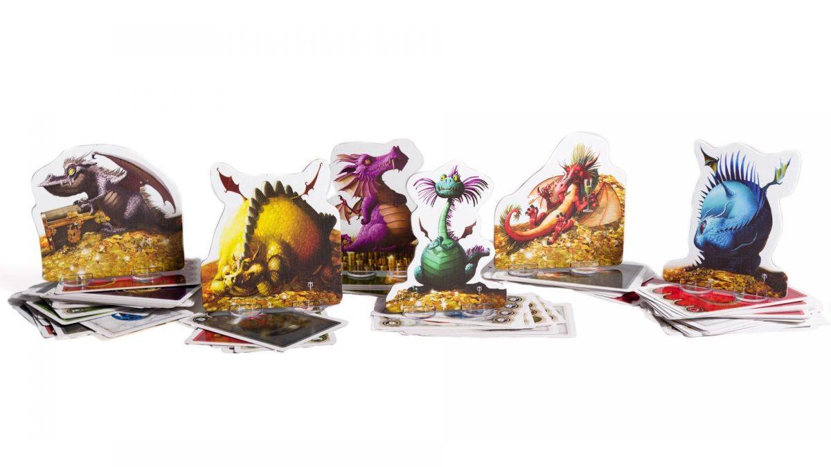 El Tesoro de los Dragones juego de mesa