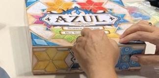 Azul Summer Pavilion juego de mesa