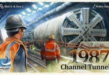 1987 Channel Tunnel juego de mesa