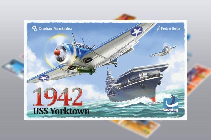 1942 USS Yorktown juego de mesa