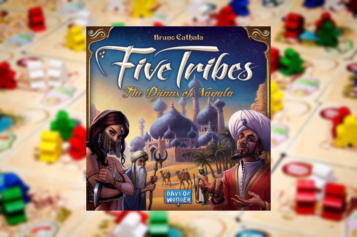 Five tribes juegos de mesa