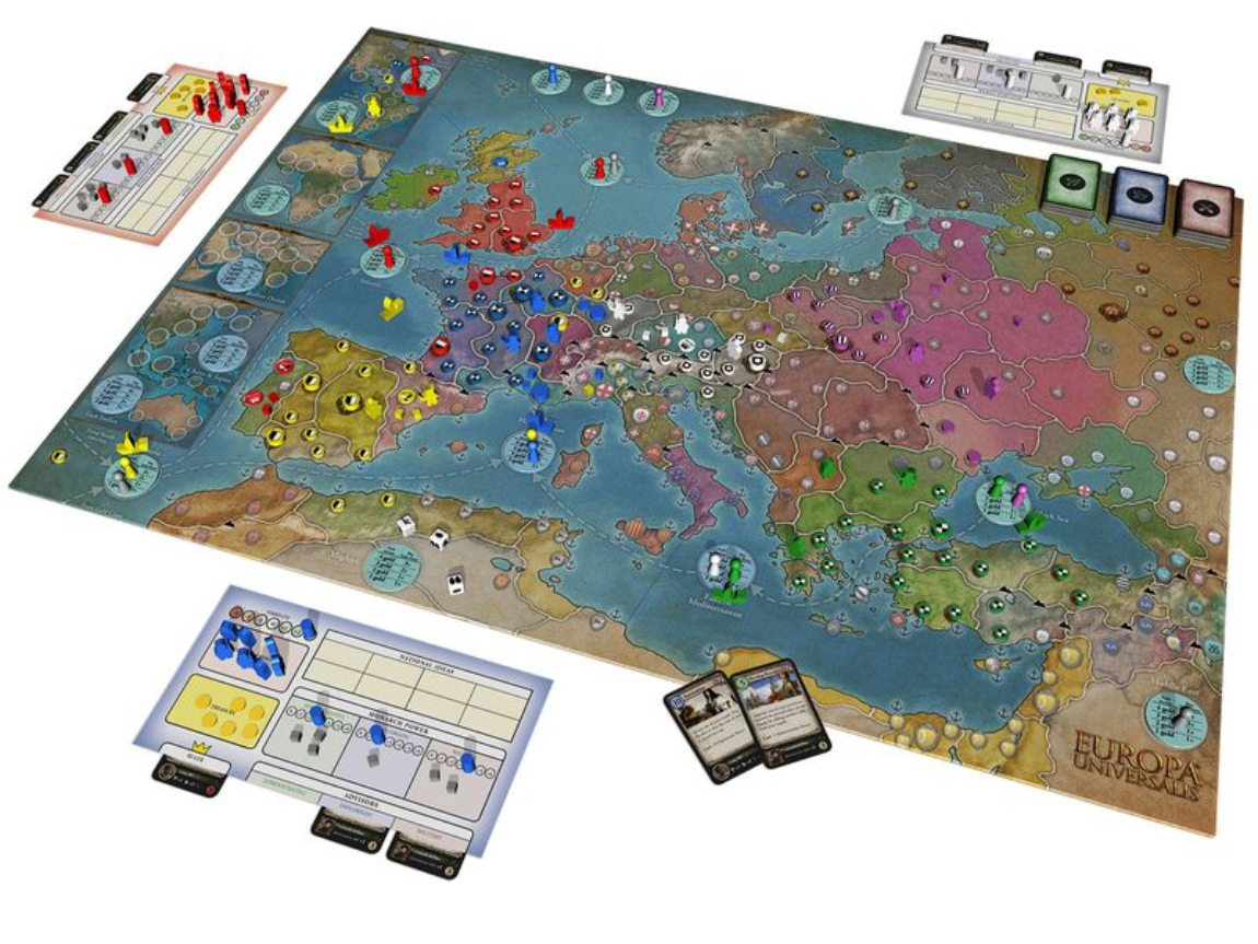 Europa Universalis juego de mesa