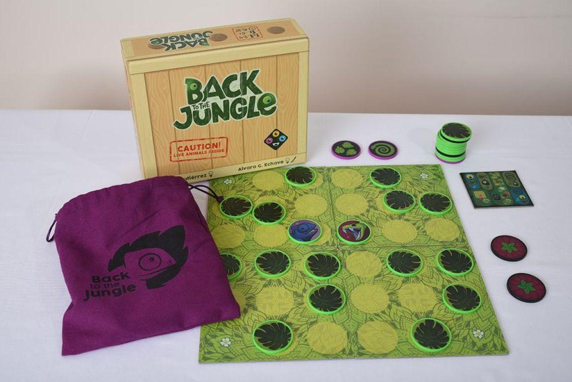 Back to the Jungle juegos de mesa