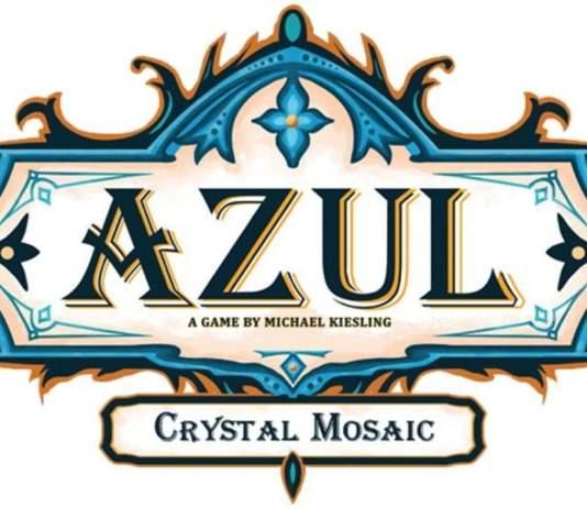 Azul Crystal Mosaic juego de mesa