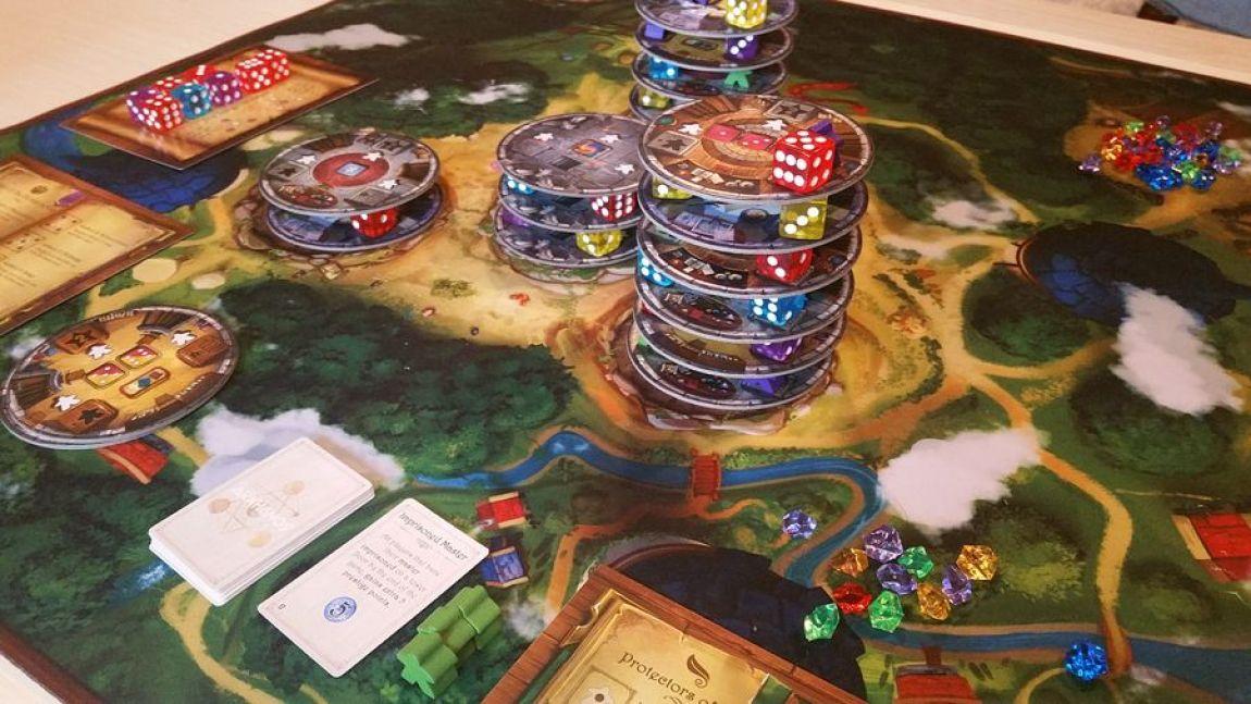 The Towers of Arkhanos juego de mesa