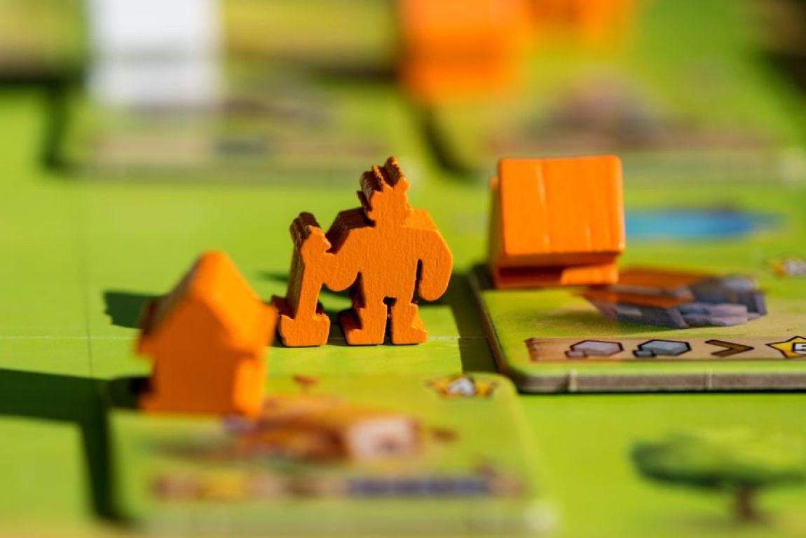 Little Town juego de mesa