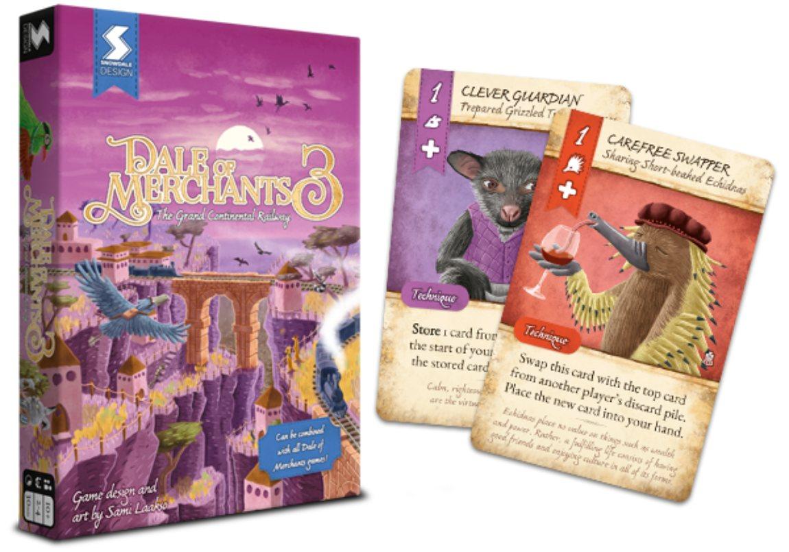 Dale of Merchants 3 juego de mesa
