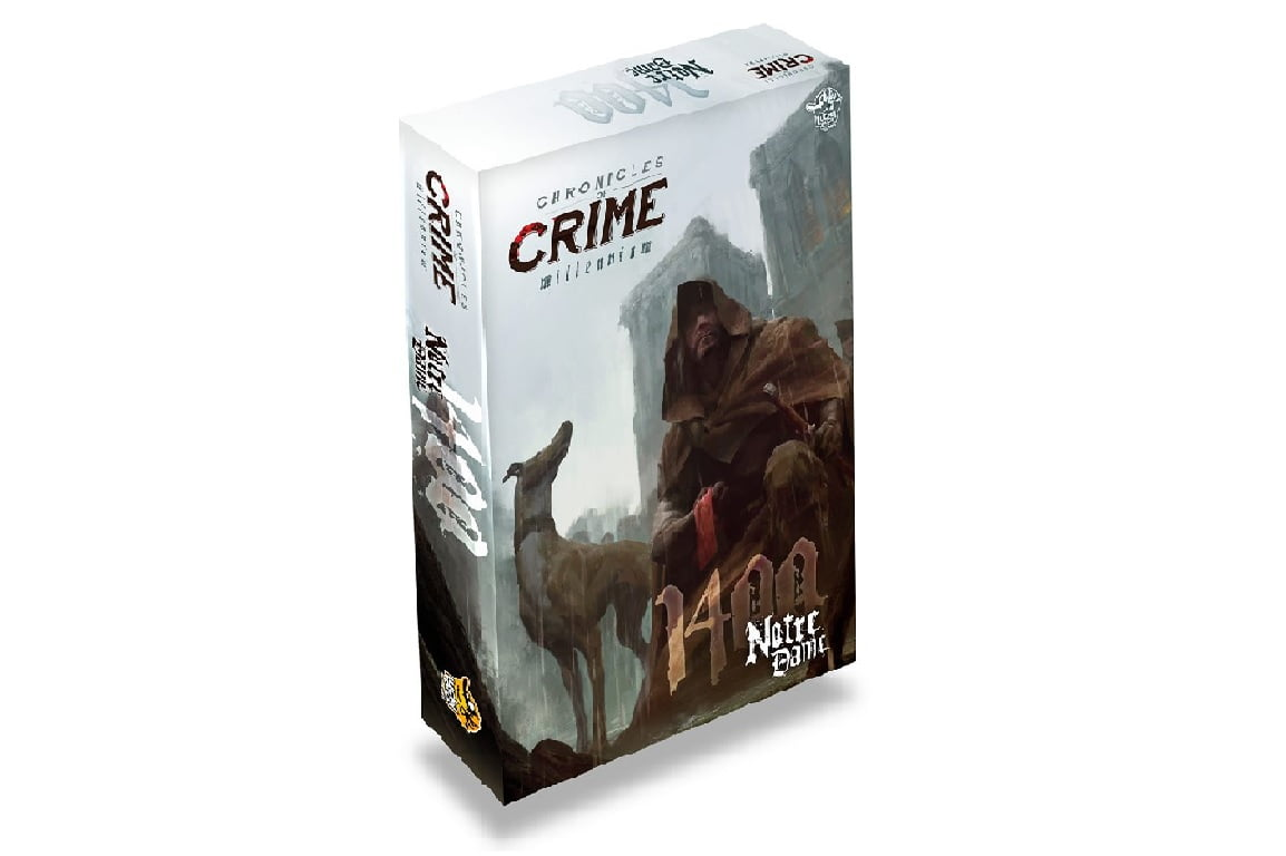 Crónicas del crimen juego de mesa