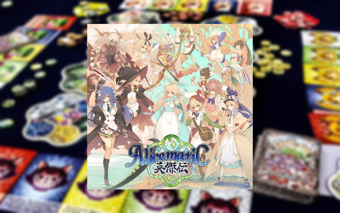 Alicematic Heroes juego de mesa