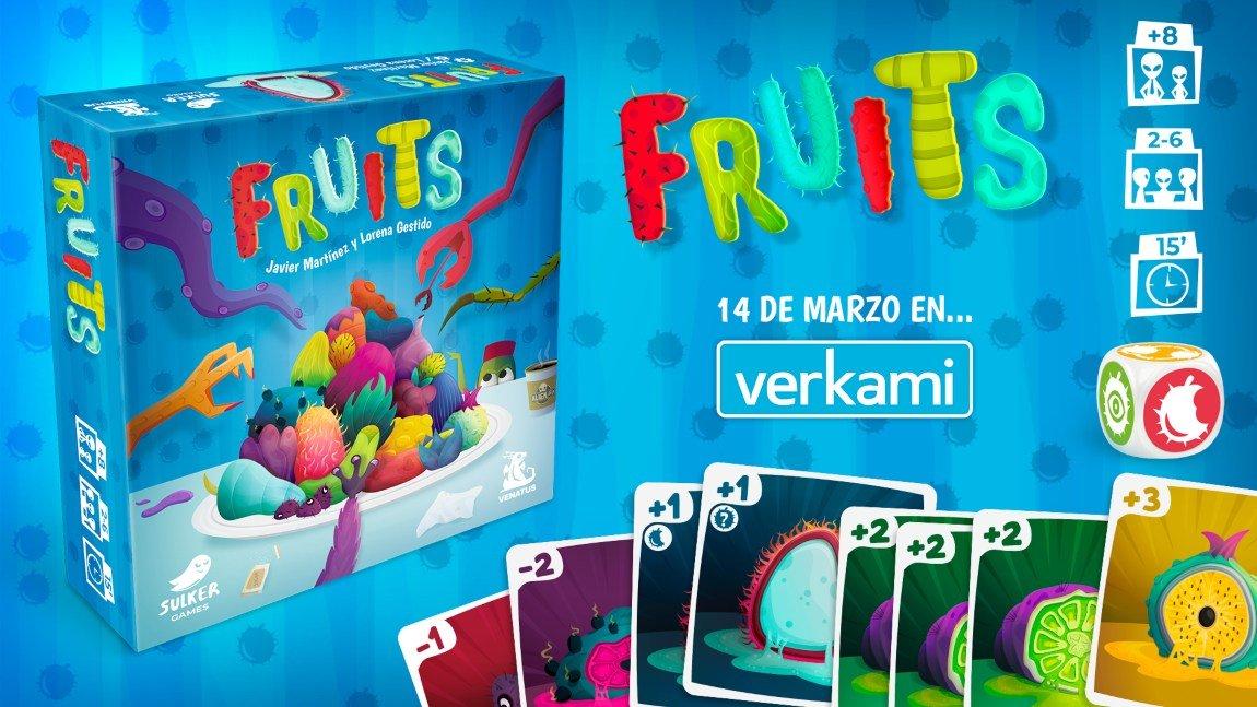 Resultado de imagen de fruits juego de mesa