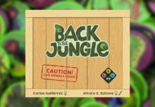 Back to the jungle juego de mesa