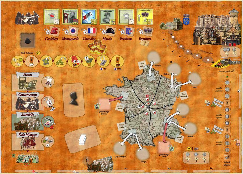 Robespierre juego de mesa